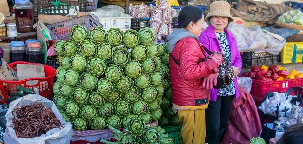 Dalat markets, Vietnam