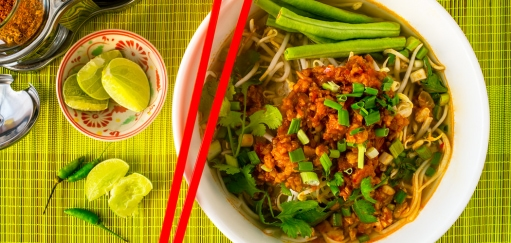 Lao Khao Soi Recipe – How to Make the Laotian Soup with a Ragu Bolognese Style Sauce