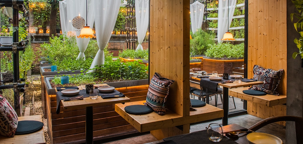 Most sustainable Bangkok restaurants. Haoma restaurant, Bangkok. Copyright © 2018 Terence Carter / Grantourismo. All Rights Reserved. Most Sustainable Bangkok Restaurants.