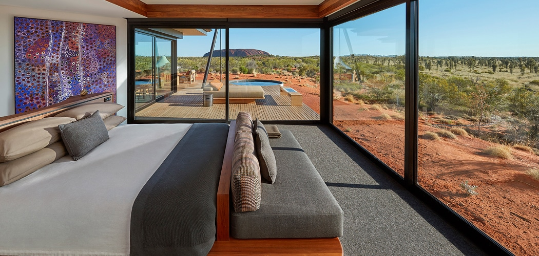 Longitude 131°. Where to Stay in Uluru Kata Tjuta National Park – Hotels, Apartments and Camping Grounds.
