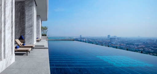 Best Bangkok Hotel Swimming Pools from Rooftop Infinity Pools to River Views