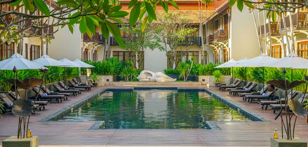 Anantara Angkor Resort, Siem Reap, Cambodia. Luxury for Less in Siem Reap.