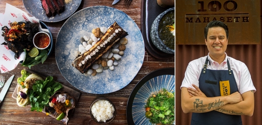 100 Mahaseth Restaurant Chef Chalee Kader on Thai Food and Getting Creative
