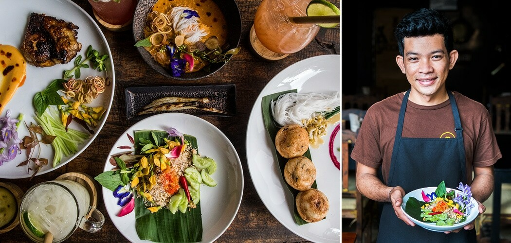 Chef Mork Mengly at Pou restaurant, Siem Reap, Cambodia. Copyright © 2018 Terence Carter / Grantourismo. All Rights Reserved.