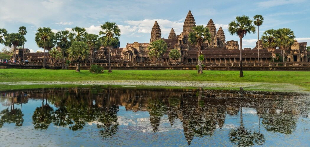 Angkor Wat in the afternoon, Siem Reap, Cambodia.