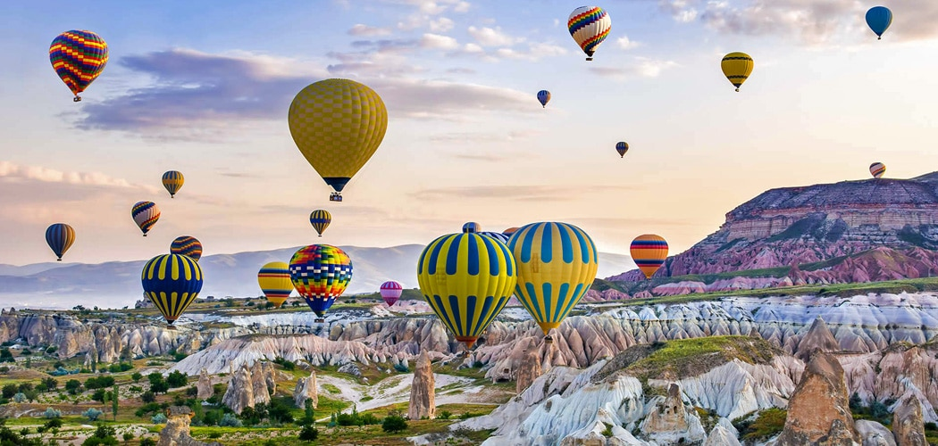 Balloon festival, Cappadocia, Turkey. Immersive Small Group Tours to Myanmar, Bhutan, Iran, Turkey and Ethiopia with Luxury Escapes.