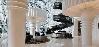 Best Doha hotels. The Mondrian, Doha. One Day in Doha Itinerary – How to Spend 24 Hours in the Qatar Capital