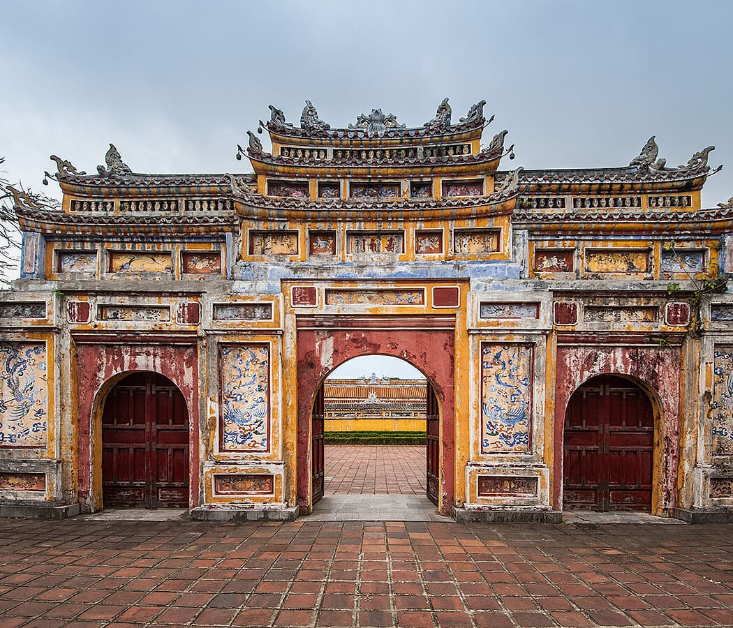Hue Imperial City (The Citadel), Hue, Vietnam. Copyright © 2019 Terence Carter / Grantourismo. All Rights Reserved. Vietnam 2019 Cuisine and Culture Tour.