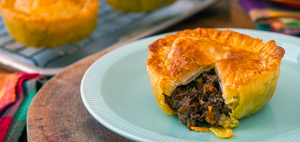 Curry Beef Pie Recipe Made With Cambodian Saraman Curry