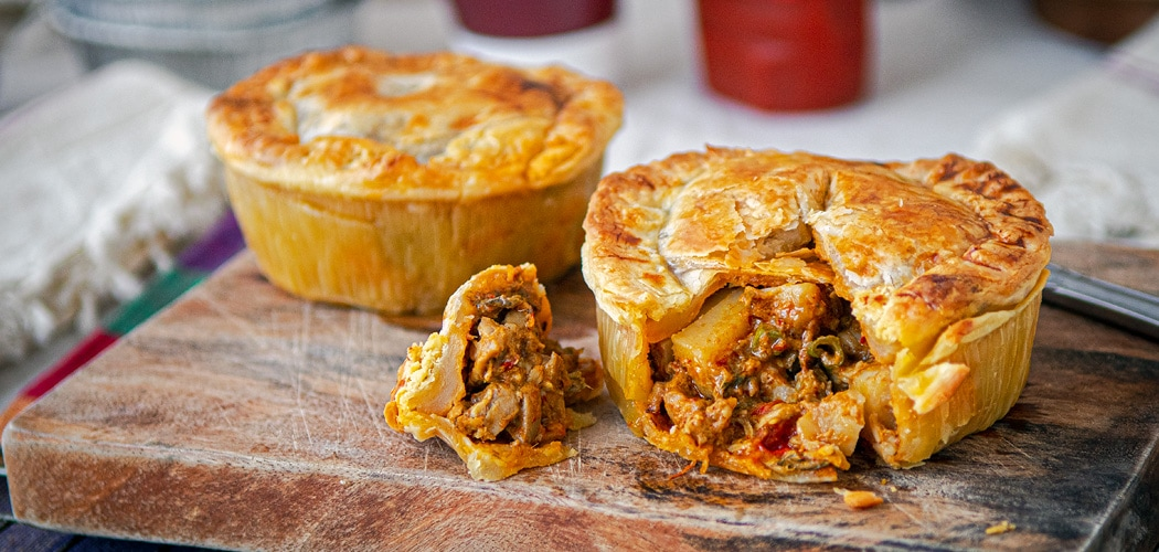 Chicken Curry Pie Recipe Made With Cambodian Chicken Curry