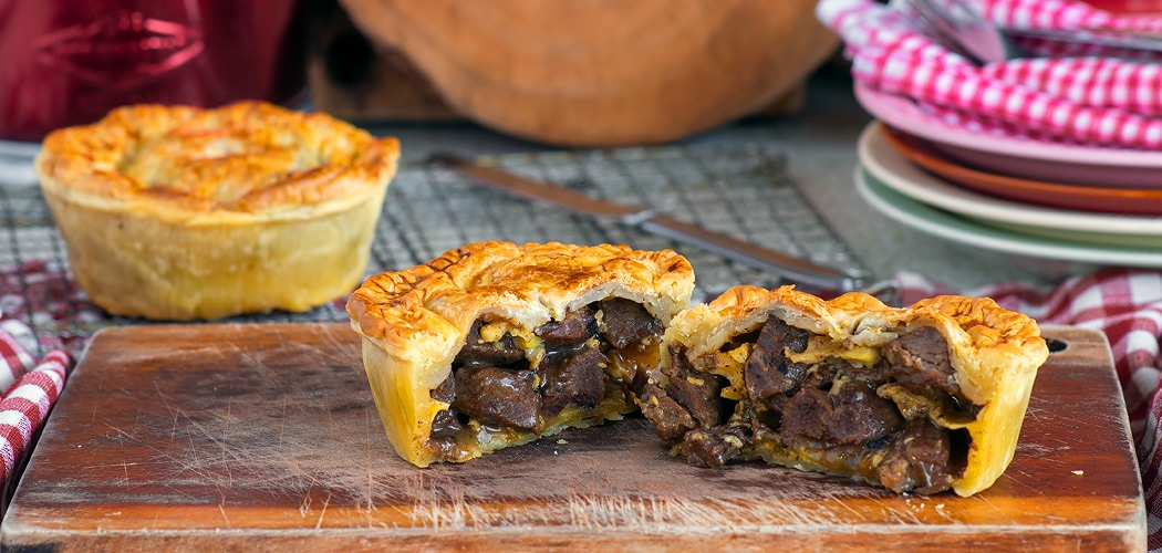 Pepper Steak Pie Recipe For A Cambodian Beef Lok Lak Meat Pie
