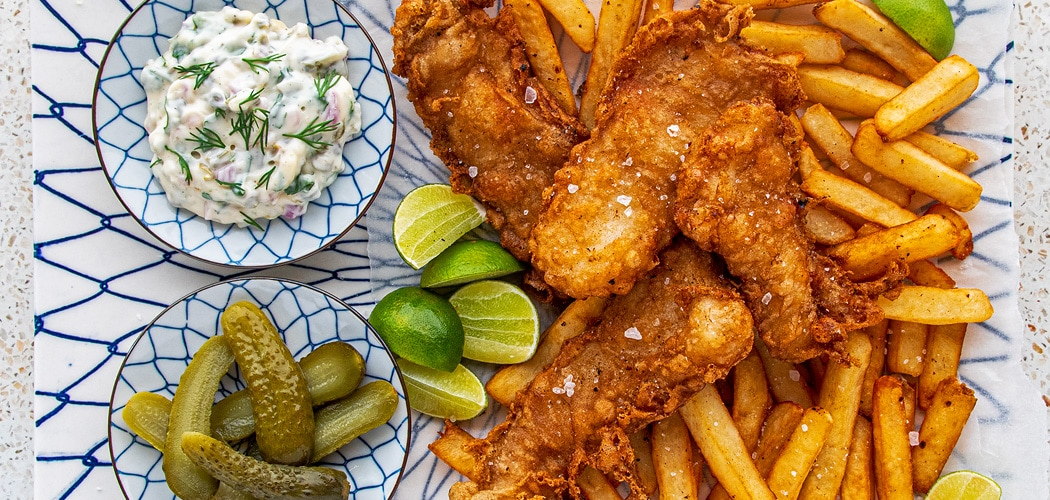 Beer Battered Fish And Chips Recipe For Perfect Fish And Chips
