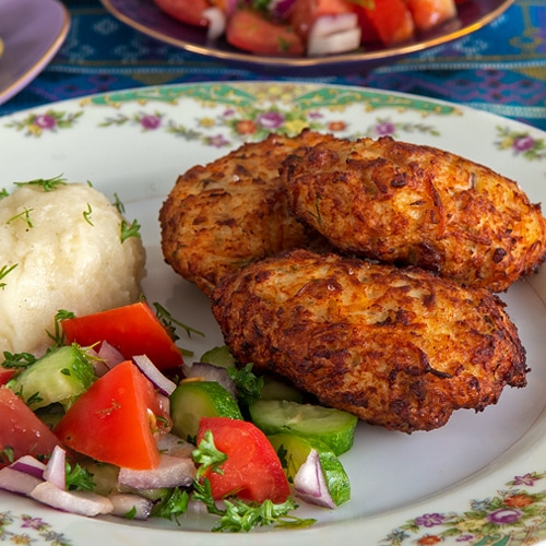 Russian Kotleti Recipe for Russian Style Chicken Meatballs. Copyright © 2021 Terence Carter / Grantourismo. All Rights Reserved.