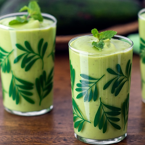 Avocado Smoothie Recipe for a Sip of Southeast Asia At Home. Copyright 2021 Terence Carter / Grantourismo. All Rights Reserved.