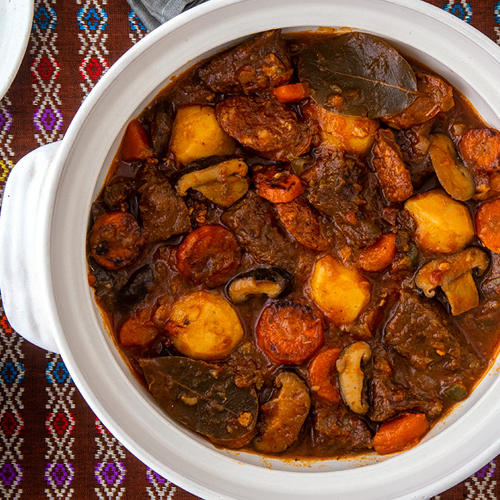 Best Stew Recipes. Russian Beef Stew Recipe for Solyanka, an Ancient Dish for Modern Times. Copyright 2021 Terence Carter / Grantourismo. All Rights Reserved.